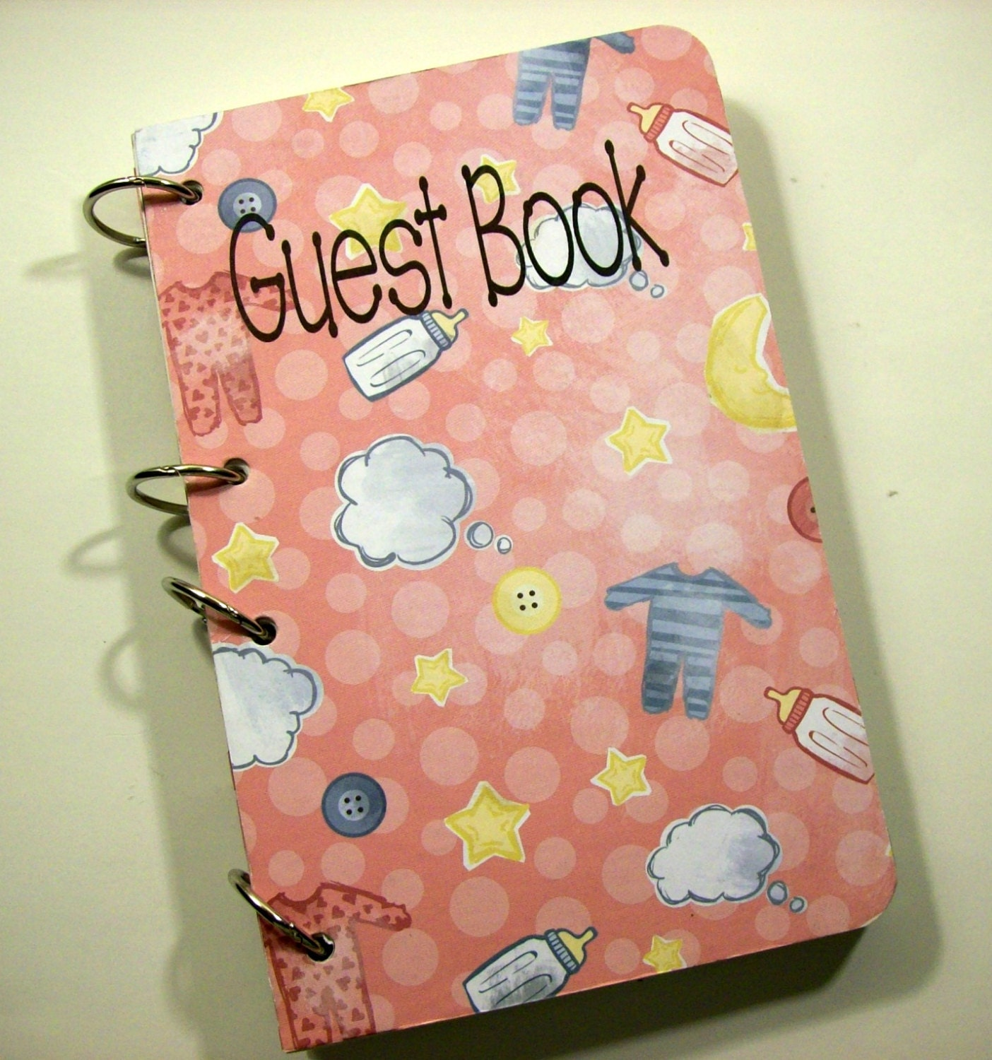 baby shower guest book sign in book new mom advice book