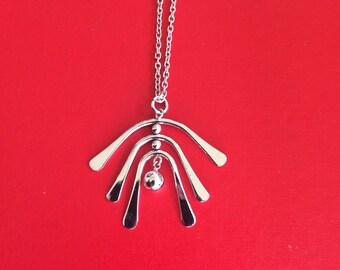 Avon 1970's Windchime Necklace