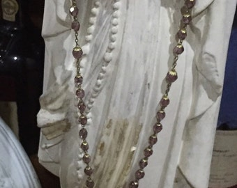 Antique French rosary
