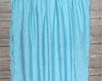 "Blue Nursing Cover Baby Boy Nursing Cover Breastfeeding Scarf Multifunctional Infinity Scarf Shrug Wrap Shawl Jersey Knit 30"" x 64"" FITS S-L"