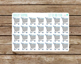 Grocery Shopping Stickers