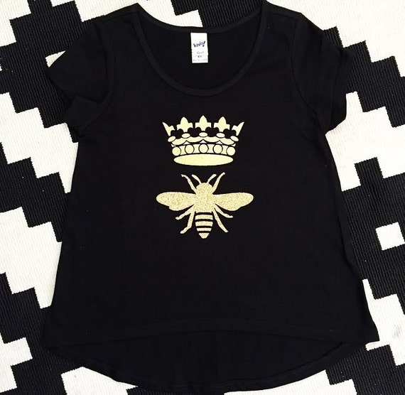 QUEEN BEE Child Shirt / Tank - baby, toddler, child, adult, couple, mommy and me mini me woman adult fashion graphic tee