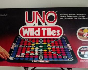 1981 UNO Wild Tiles from IGI