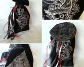 Large Tarot Bag - Raven