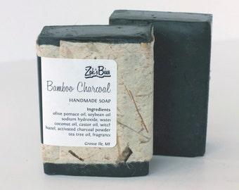 Bamboo Charcoal - Handmade Soap