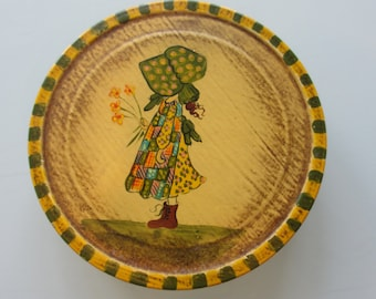 Vintage Holly Hobbie Tin