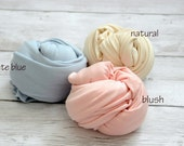 PICK ANY 3, Newborn wrap, Newborn Photo Prop, newborn stretch Wrap, Newborn jersey wrap, Natural Newborn Wrap, Natural Prop