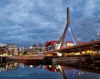 Photograph of the Zakim Bridge in Boston