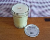 "8oz Wood Wick Candle FRENCH MACAROOON ""Candles for St. Christopher's Children's Hospital"""