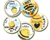 BEE-AUTIFUL! Personalized stickers for Teachers
