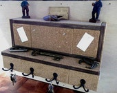 Organizer...Mail & Key Holder...Message Board...Display Shelf...FREE SHIPPING