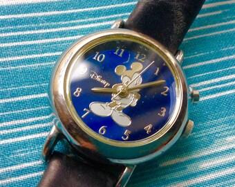 Wrist Watch Wristwatch Mickey Mouse Disney wrist watch rare music tune watch