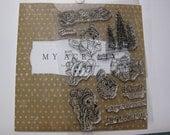Acrylic Stamp Set - Close to My Heart #C1472 - Bundled Buddies