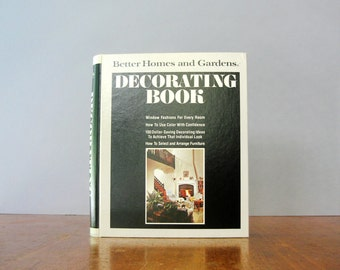 Vintage 70's Decorating / Interior Design Book - Better Homes and Gardens