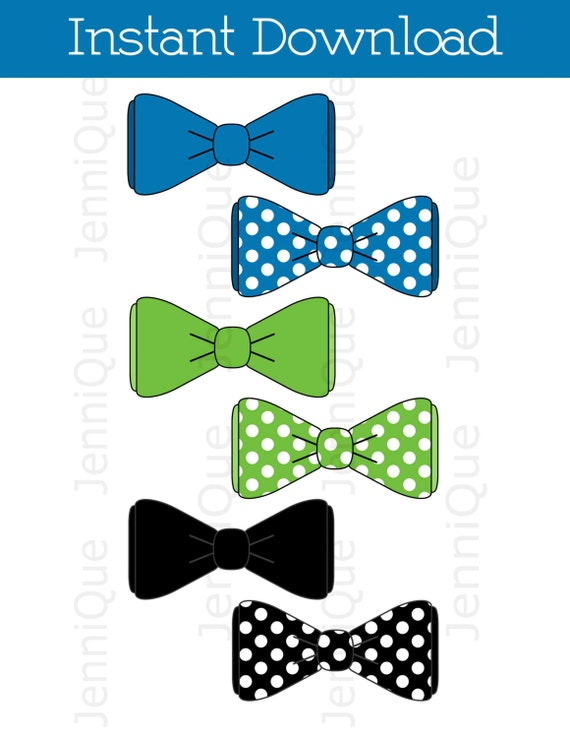Printable bow tie bow tie cut outs bow tie baby shower for Baby shower decoration cutouts