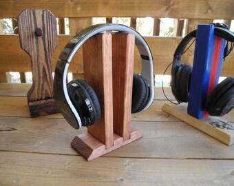 WoodyTunes Twins Headphone Stand