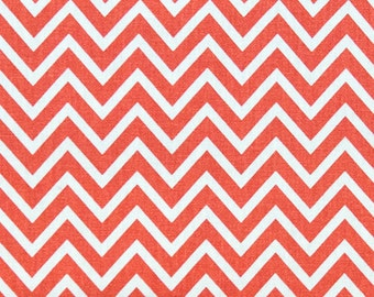 CLEARANCE- Decorative Pillow Sham- Premier Prints Coral Cosmo Pillow Cover- 16x16 inch- Zippered Pillow- Chevron Cushion Cover- Pillow Case