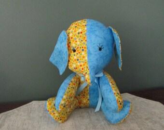 BETSY THE ELEPHANT Cloth Stuffed Animal Toy