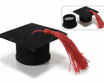 Party Favor Graduation Velvet Box 16 pcs