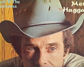 Merle Haggard LP Back to the Barrooms vintage vinyl Bakersfield Sound Country Music Honky Tonk