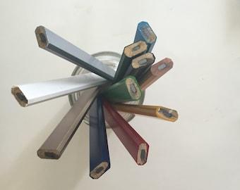 6 six custom engraved personalized carpenter pencils. 6 quotes. Six unique quotes.