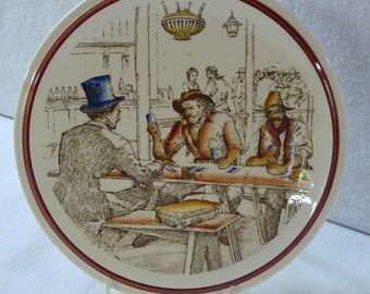 Vernon Kilns Bit Plate - Bits of The Old West - The Fleecing