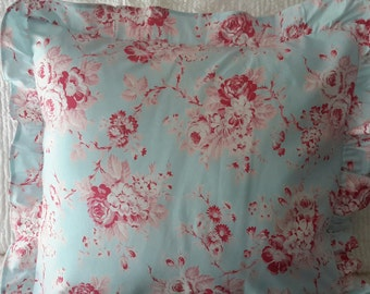 Shabby Cottage Chic Pillow Cover