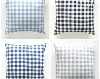 NEW! Fall/Winter Plaid Collection. Pillow Covers. Decorative Pillow. Gingham Pillows. Plaid Pillows. Buffalo Check Throw Pillow Cover.