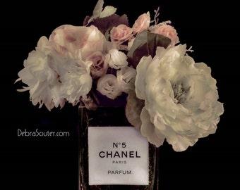 Vintage Chanel Inspired Fine Art Print