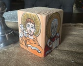 Wooden Saint Block
