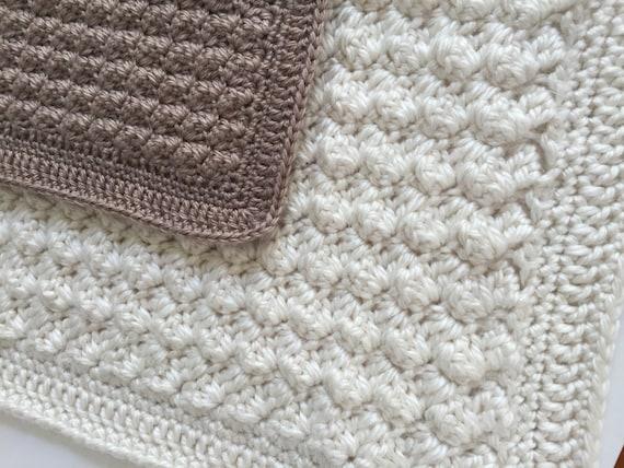 Baby Crochet Patterns Bulky Yarn : Crochet Baby Blanket Pattern - Chunky Crochet Baby Blanket ...
