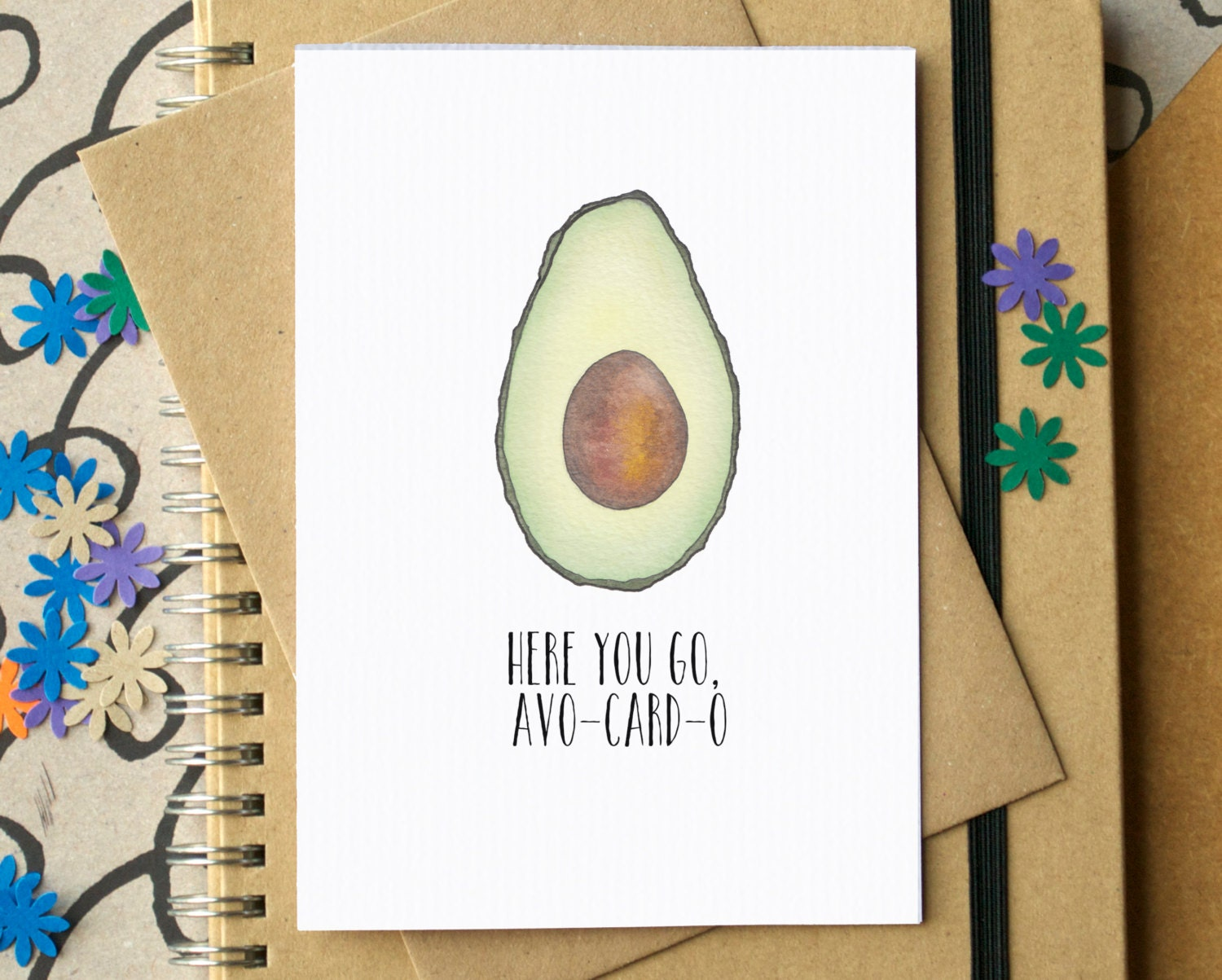 Avocado Card Funny Birthday Card Funny Anniversary Card