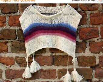 SALE CHILDRENS CLOTHING Kids Poncho Children Sweater size 5 to 11y Kids Poncho Spring Clothing Children Spring Clothing