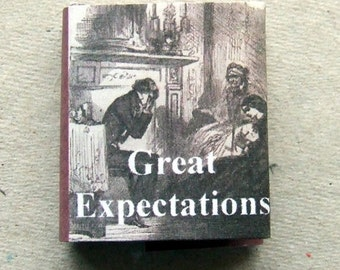 Dolls House Miniature Great Expectations Book