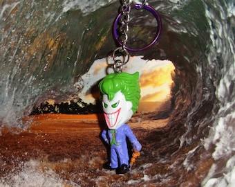 The Joker Key Chain, Collectible Mini Figure, Fun.