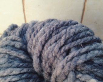 Blackberry Portuguese merino 2 skeins hand spun & naturally dyed 100 gm