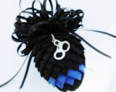 Police Pinecone Ornament - Thin Blue Line Police Tribute Ornament - Law Enforcement Ornament - Law Enforcement Pinecone Ornament