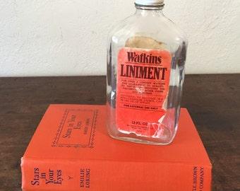Vintage Watkins Liniment Bottle