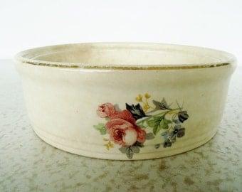 Universal Cambridge Bowl Dish Roses Pottery