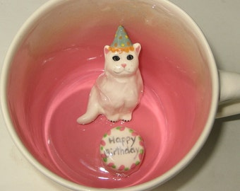 Birthday Cat (In stock)