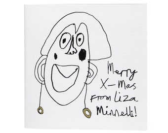 Merry Xmas from Liza Minnelli