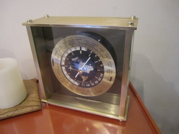 seiko world time clock instructions