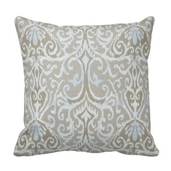 Throw Pillows On Grey Couch : Grey Pillows Blue Pillow Covers Couch Pillows Decorative