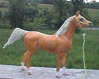 "10"", Realistic, Arabian Horse, standing horse,horse figurine, Horse statue, ready to paint, u-paint, ceramic bisque"