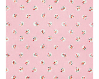 Cath kidston pink floral spot cotton duck  fabric cushion/pillow cover decorative cushion cover in cath kidston  fabric