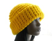 CROCHET PATTERN: The Big Pix Cuffed Beanie for Men and Women, Hat Pattern, Instant Download PDF