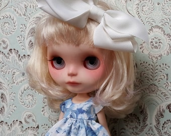 Blue Provance Flowers Blythe Dress | Pullip Dress