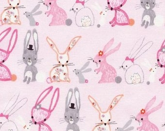Pastel Bunnies from Timeless Treasures