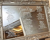 Mirror Seating Chart - RESERVED LISTING