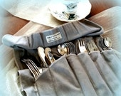 25% YR END SALE Vintage Serving Cutlery Set - Butter Knives, Ice Tea Spoons, Dessert Forks and Teaspoons -